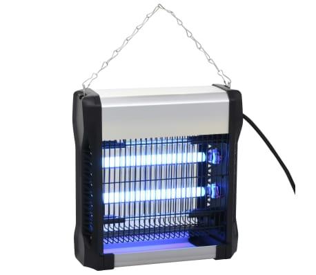 vidaXL Insekticidinė lempa, juodos sp., aliuminis, ABS, 12W[2/10]