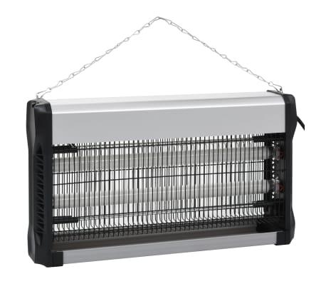 vidaXL Insekticidinė lempa, juodos sp., aliuminis, ABS, 30W[3/10]
