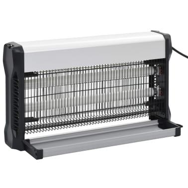 vidaXL Insekticidinė lempa, juodos sp., aliuminis, ABS, 30W[7/10]