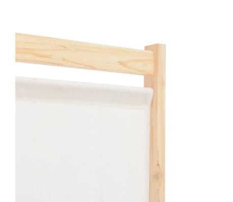 Braun 160 cm Paravent Trennwand Umkleide Sichtschutz vidaXL Raumteiler 4-tlg