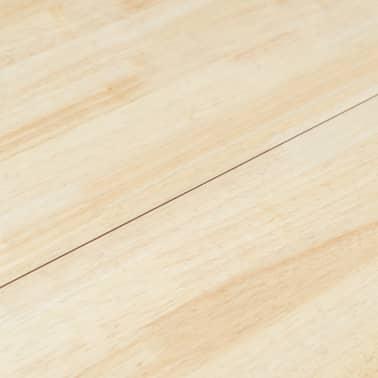 vidaXL Eettafel 106 cm massief rubberwood grijs en bruin[4/5]
