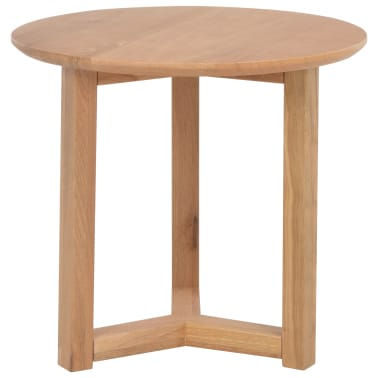 vidaXL Kavos staliukai, 3 vnt., ąžuolo medienos masyvas[7/10]