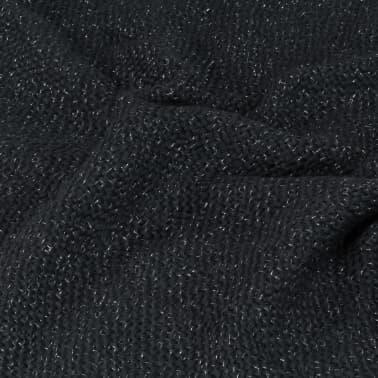 vidaXL Filt lurex 125x150 cm antracit[5/5]