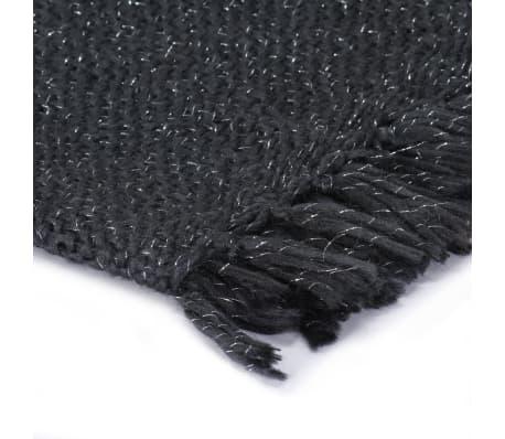 vidaXL Filt lurex 220x250 cm antracit[3/5]