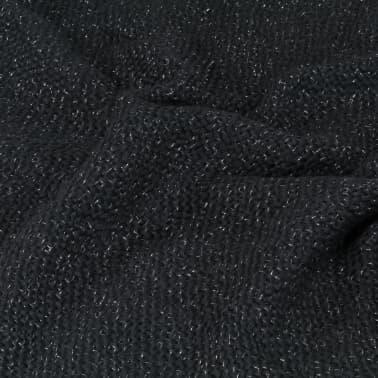 vidaXL Filt lurex 220x250 cm antracit[5/5]