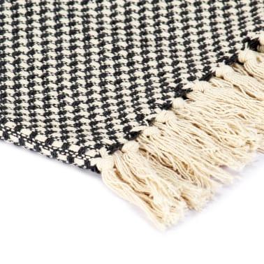 vidaXL Filt bomull 220x250 cm antracit[3/5]