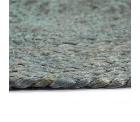 vidaXL Prestierania 6 ks olivovo-zelené 38 cm jutové okrúhle[4/4]