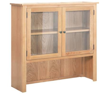 vidaXL Louceiro 110x33,5x105 cm madeira de carvalho maciça