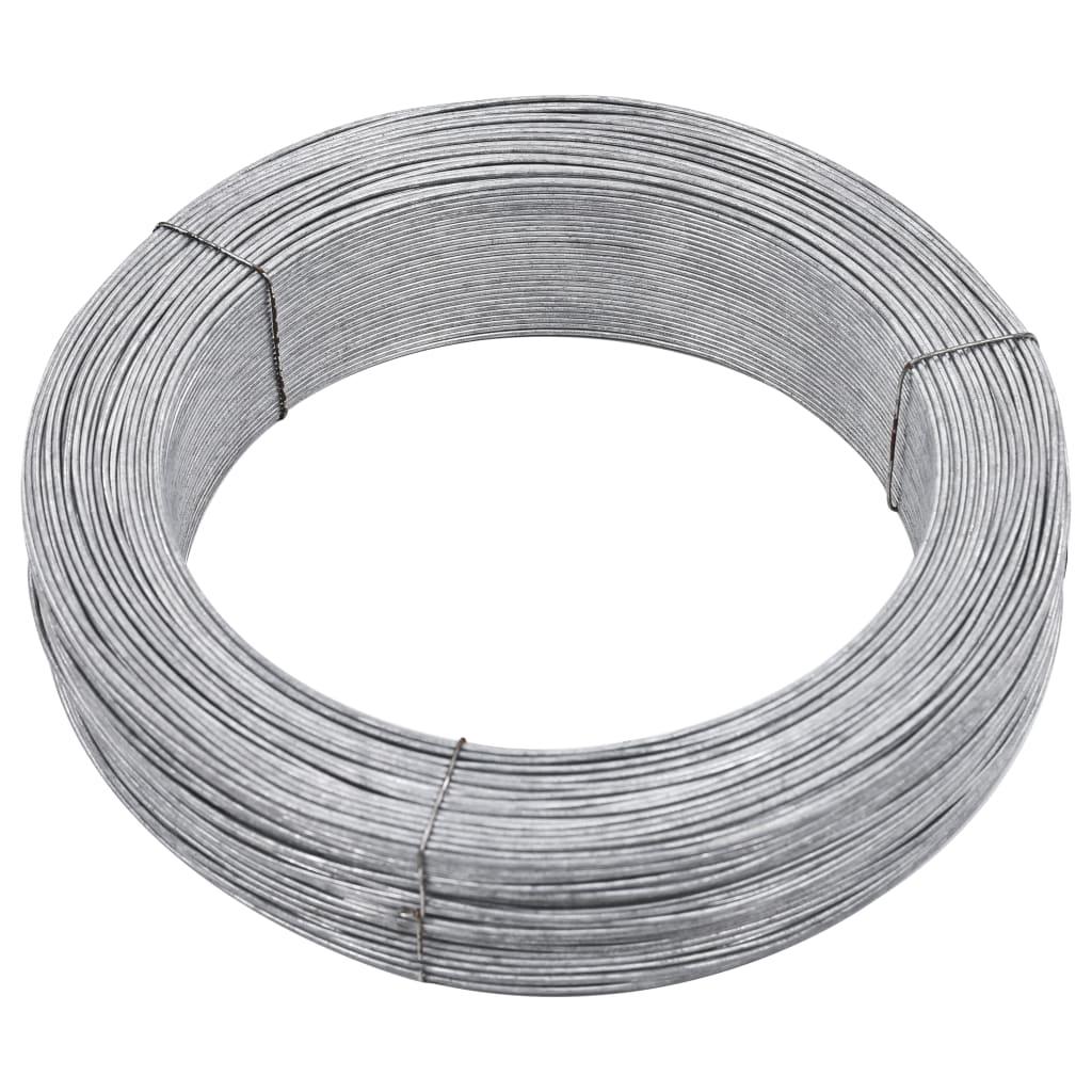 vidaXL Fir de tensionare pentru gard, 250 m, 3,8 mm, oțel poza vidaxl.ro