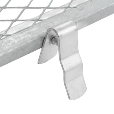 vidaXL Smėlio sietas, sidabrinės spalvos, 100x60cm[4/5]