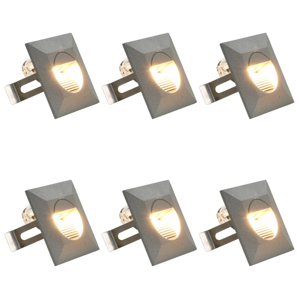 LED-seinavalgustid õue 6 tk..