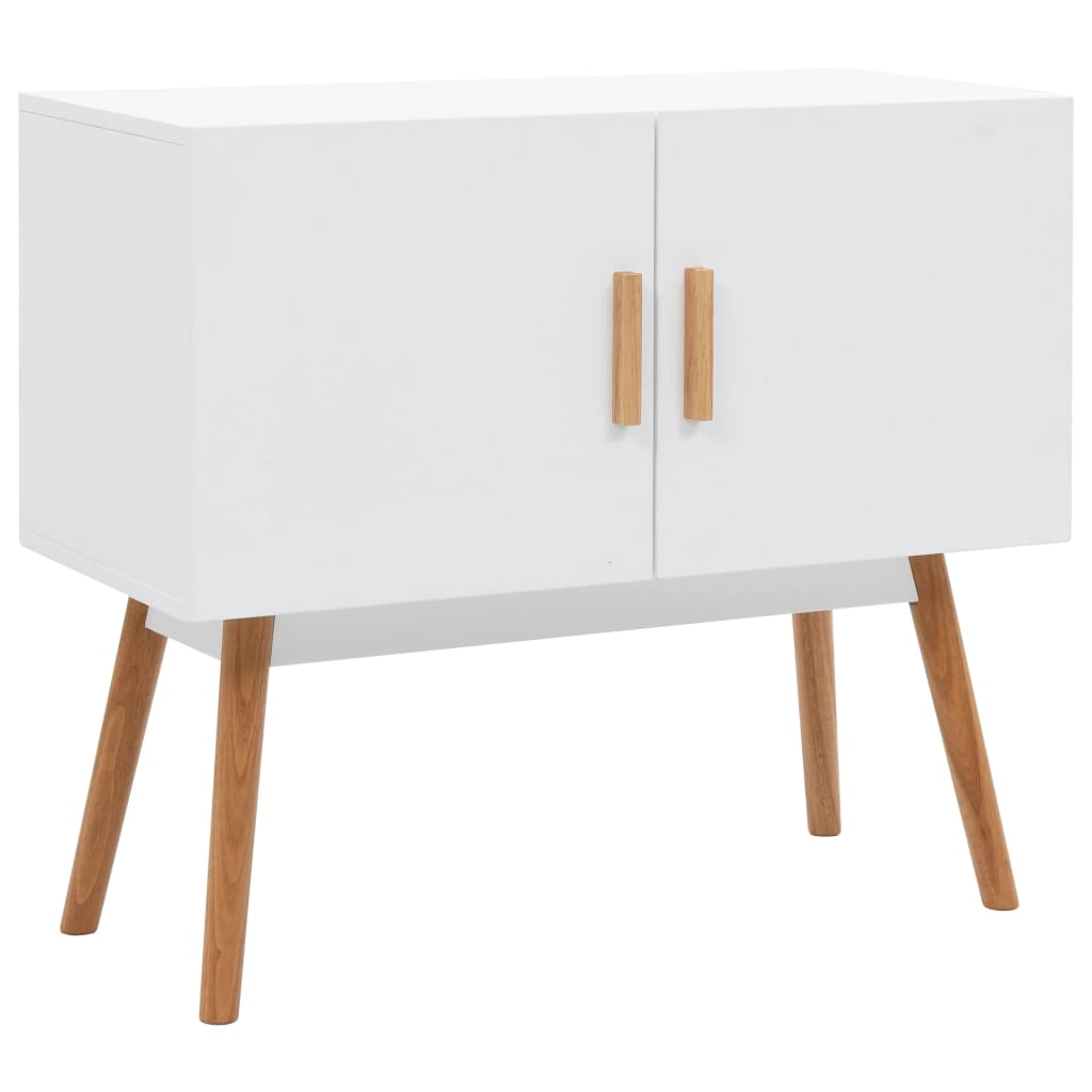 vidaXL Servantă, alb, 80 x 38 x 70 cm, MDF poza 2021 vidaXL
