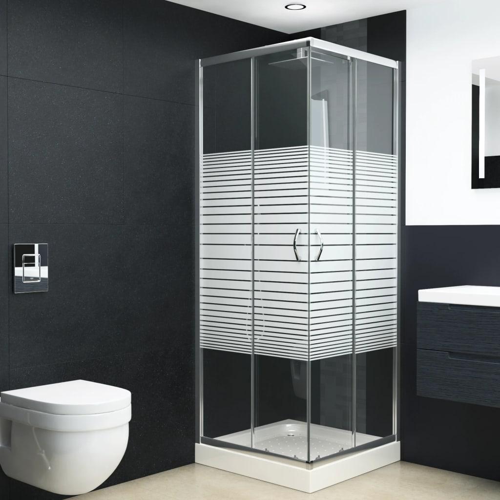 vidaXL Cabină de duș, 80x70x185 cm, sticlă securizată imagine vidaxl.ro