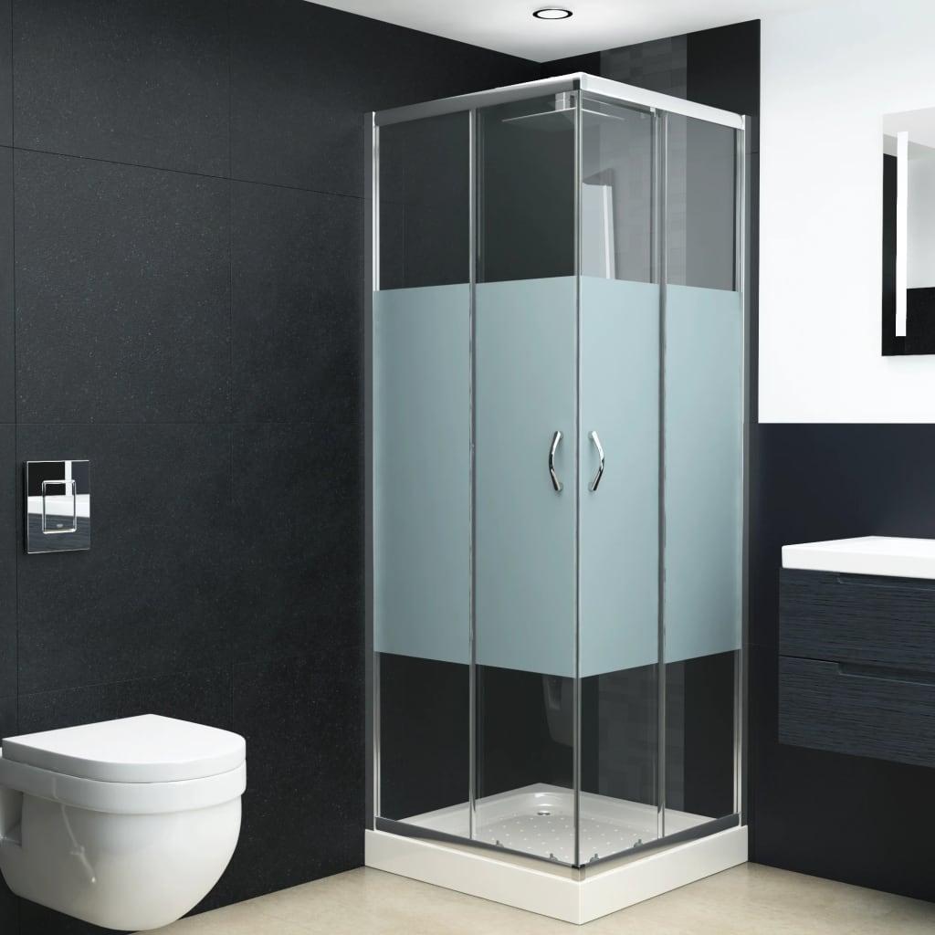 vidaXL Cabină de duș, 80 x 70 x 185 cm, sticlă securizată vidaxl.ro
