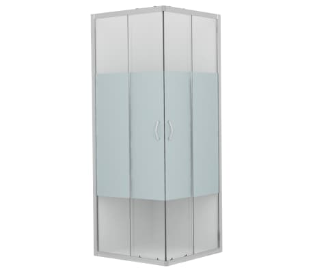 vidaXL Cabine de duche c/ vidro de segurança 90x70x180 cm