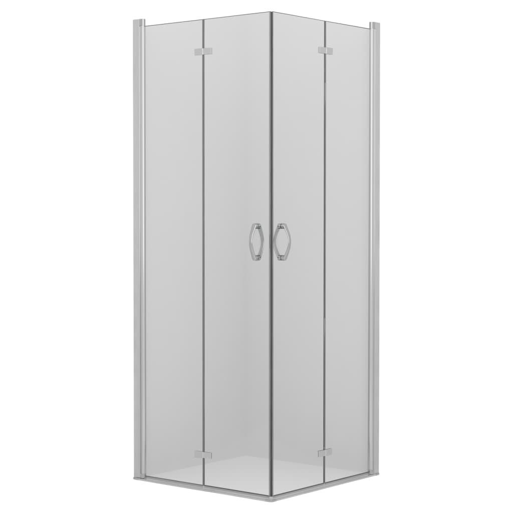 vidaXL Cabină duș cu uși dublu-pliabile, 75x75x185 cm, ESG vidaxl.ro
