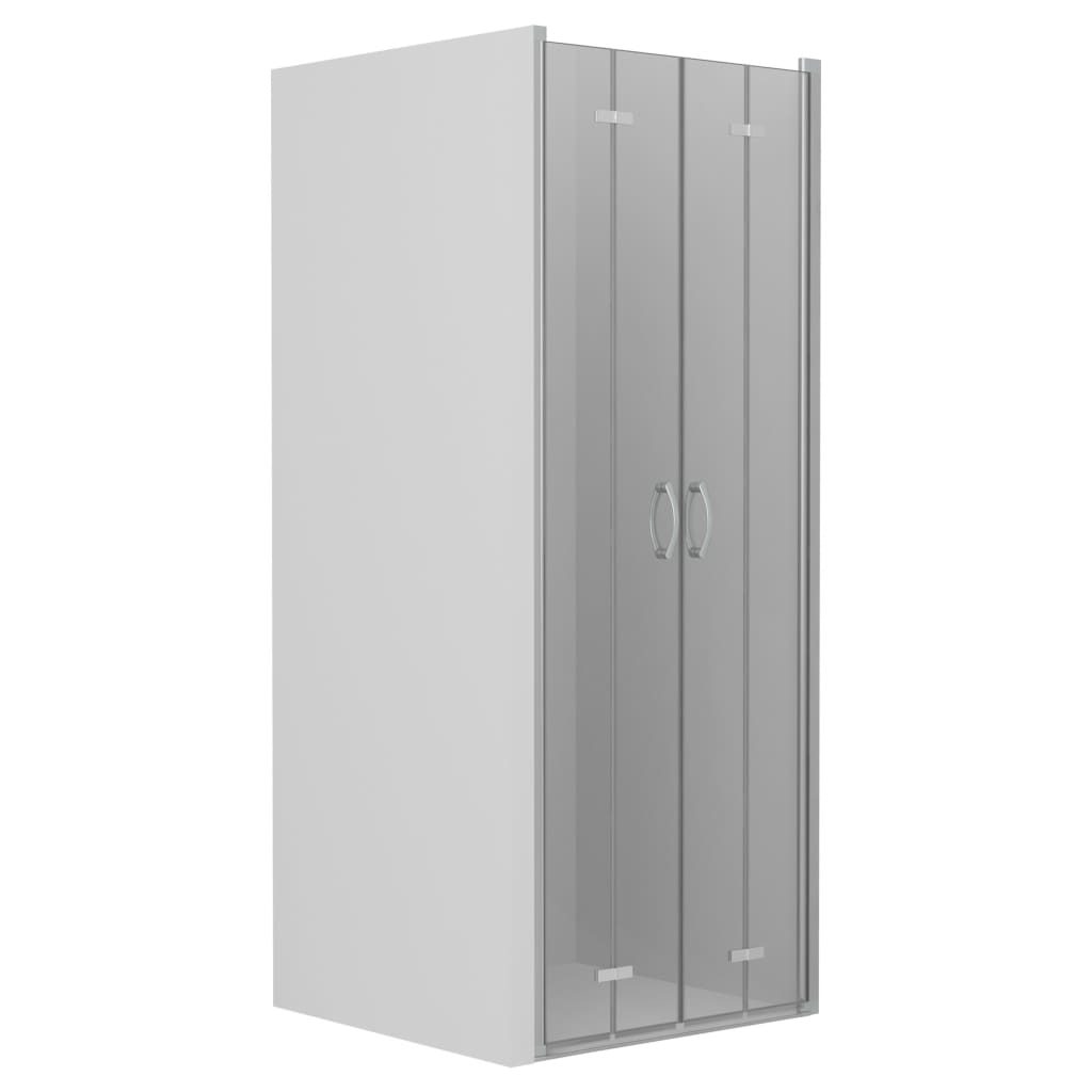 vidaXL Uși dublu-pliabile pentru duș, transparent, 90x185 cm, ESG vidaxl.ro