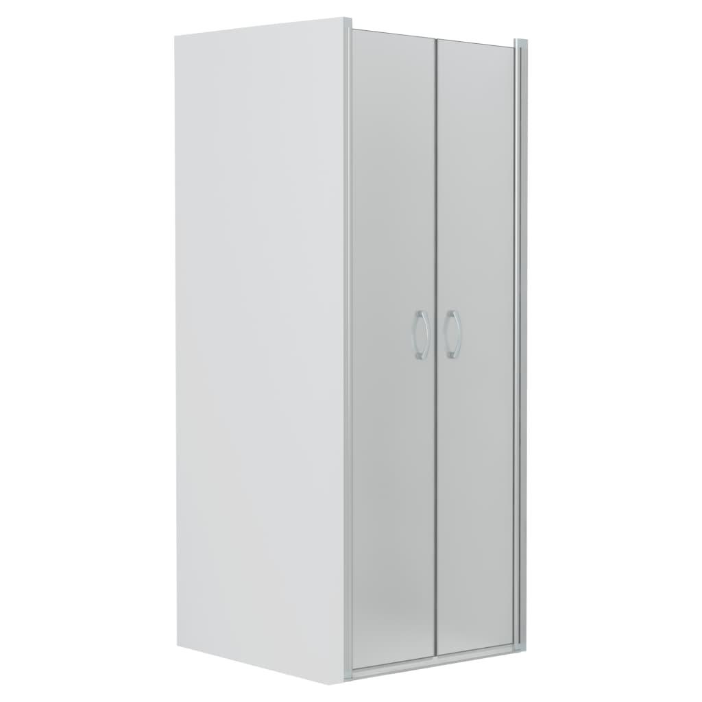 vidaXL Uși cabină de duș, mătuit, 90 x 180 cm, ESG imagine vidaxl.ro