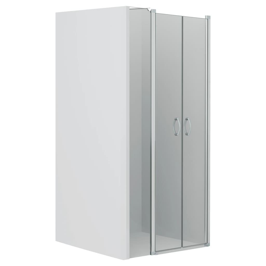 vidaXL Uși cabină de duș, transparent, 120 x 185 cm, ESG imagine vidaxl.ro
