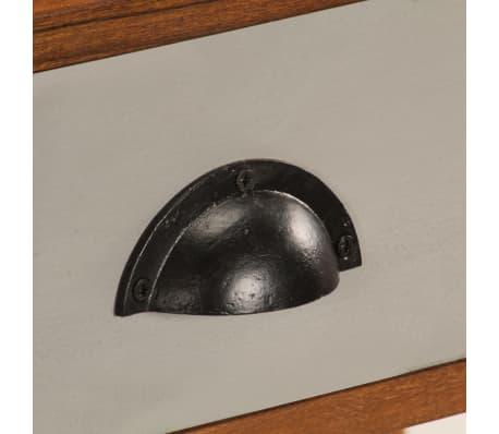 "vidaXL Writing Desk 43.3""x19.6""x35.4"" Solid Acacia Wood[8/15]"