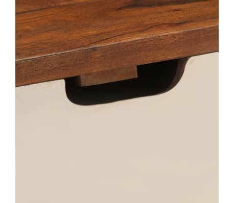 "vidaXL Writing Desk 43.3""x19.6""x35.4"" Solid Acacia Wood[9/15]"