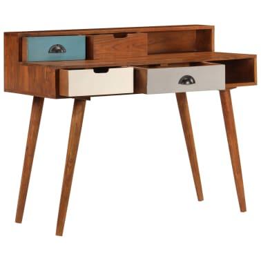 "vidaXL Writing Desk 43.3""x19.6""x35.4"" Solid Acacia Wood[4/15]"