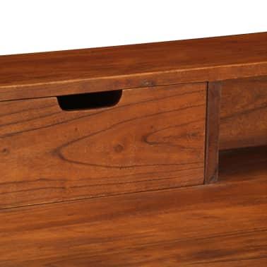 "vidaXL Writing Desk 43.3""x19.6""x35.4"" Solid Acacia Wood[6/15]"