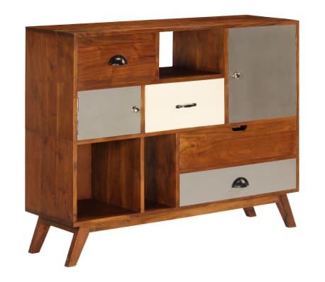 vidaXL Šoninė spintelė, 115x35x86cm, akacijos medienos masyvas[2/17]