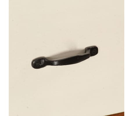 vidaXL Šoninė spintelė, 115x35x86cm, akacijos medienos masyvas[12/17]