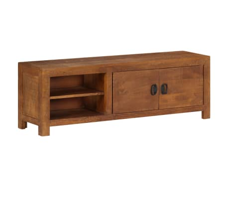 "vidaXL TV Cabinet 47.2""x15.7""x11.8"" Solid Mango Wood"