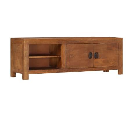 "vidaXL TV Cabinet 47.2""x15.7""x11.8"" Solid Mango Wood[11/13]"