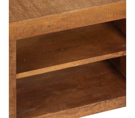 "vidaXL TV Cabinet 47.2""x15.7""x11.8"" Solid Mango Wood[6/13]"