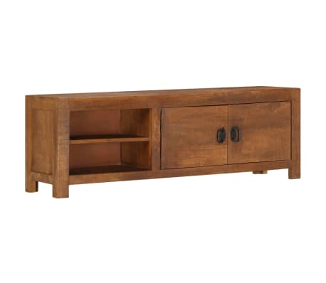 "vidaXL TV Cabinet 47.2""x15.7""x11.8"" Solid Mango Wood[9/13]"