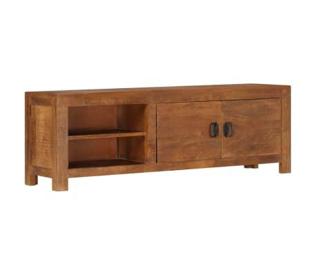 "vidaXL TV Cabinet 47.2""x15.7""x11.8"" Solid Mango Wood[10/13]"