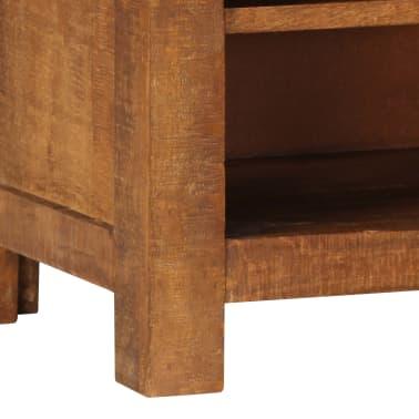 "vidaXL TV Cabinet 47.2""x15.7""x11.8"" Solid Mango Wood[4/13]"