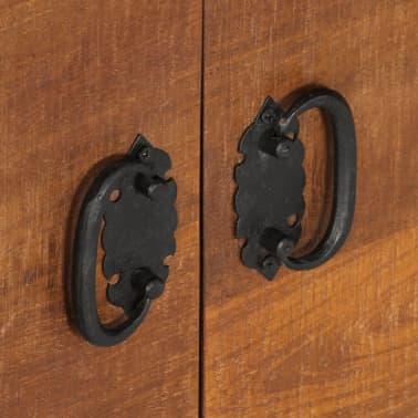 "vidaXL TV Cabinet 47.2""x15.7""x11.8"" Solid Mango Wood[5/13]"