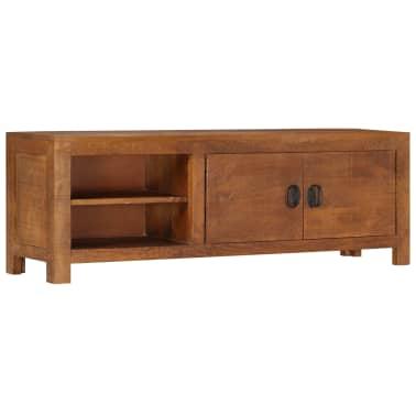 "vidaXL TV Cabinet 47.2""x15.7""x11.8"" Solid Mango Wood[8/13]"