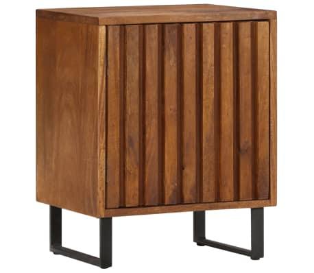 vidaXL Nočna omarica iz trdnega mangovega lesa 40x30x50 cm