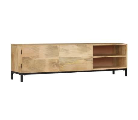 vidaXL Mueble para TV madera maciza de mango 145x30x41 cm
