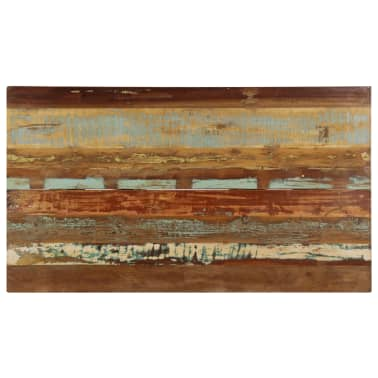 vidaXL Eettafel 140x80x76 cm massief gerecycled hout[6/12]