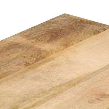 vidaXL Eettafel 120x60x76 cm massief mangohout[7/12]