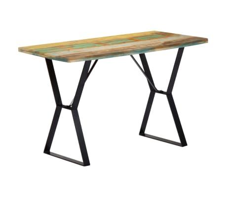 vidaXL Eettafel 120x60x76 cm massief gerecycled hout[1/13]