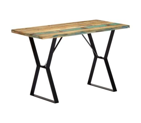 vidaXL Eettafel 120x60x76 cm massief gerecycled hout[11/13]