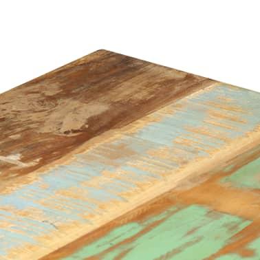 vidaXL Eettafel 120x60x76 cm massief gerecycled hout[7/13]