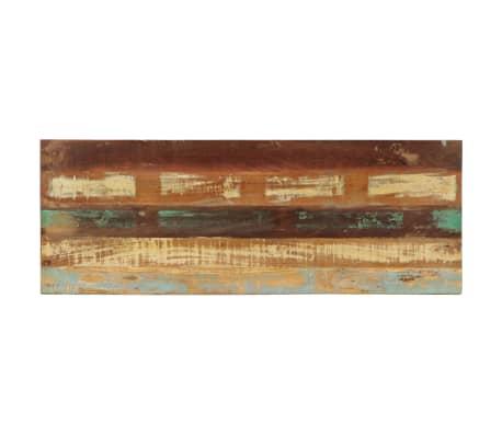 vidaXL Bänk 110 cm massivt återvunnet trä[5/12]