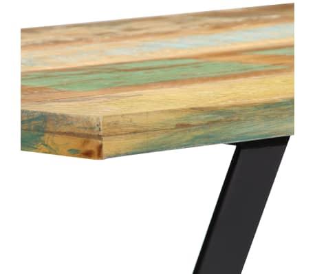 vidaXL Bänk 110 cm massivt återvunnet trä[6/12]