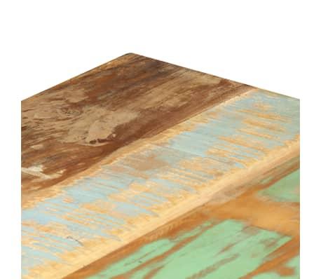 vidaXL Bänk 160 cm massivt återvunnet trä[6/13]