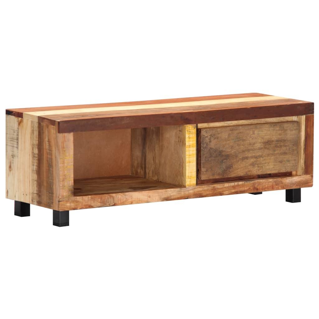 vidaXL Comodă TV, 100 x 30 x 33 cm, lemn masiv reciclat poza 2021 vidaXL