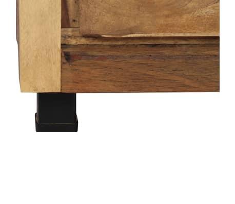 vidaXL Armoire latérale 160 x 38 x 79 cm Bois de récupération massif[9/14]