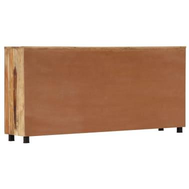 vidaXL Armoire latérale 160 x 38 x 79 cm Bois de récupération massif[5/14]